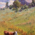 "Oils ""Grazing"" 16""x8"""