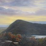 "Oil on canvas 18""x 24"" ""View from Sunset Rock"""