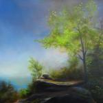 "Oil on Linen ""Raycliffe Spring"" 24""x 36"""
